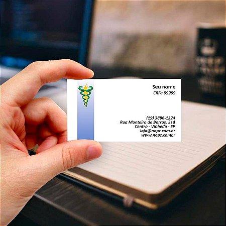 Cartão de visita para Fonoaudiologia 6 Profissional