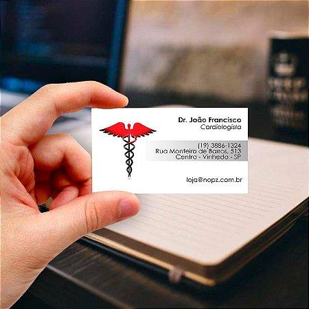 Cartão de visita para Médico 3 Profissional