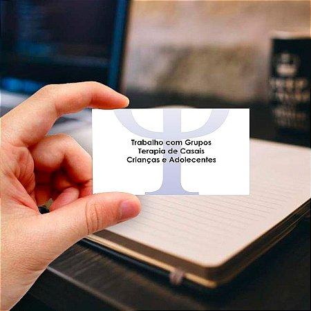 Cartão de visita para Psicologia 5 Profissional