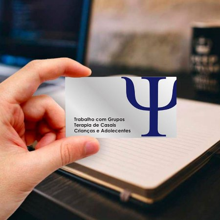 Cartão de visita para Psicologia 6 Profissional