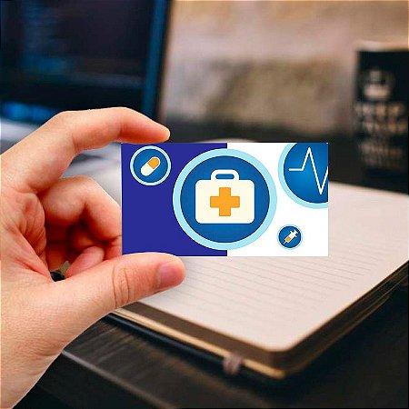 Cartão de visita para Médico 11 Profissional