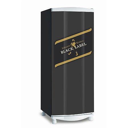 Adesivo de geladeira Black Label