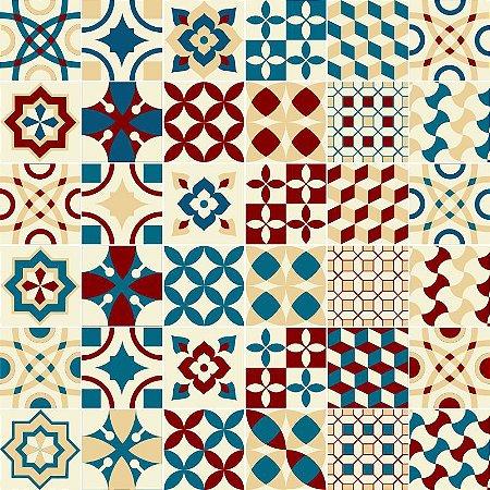 Adesivo Decorativo Azulejo - mod 1