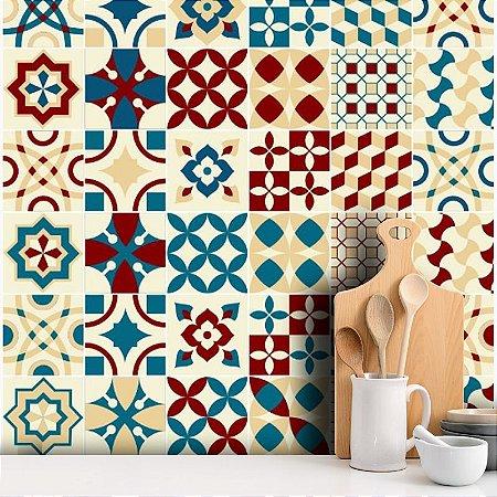 Adesivo Decorativo Azulejo - Colorido