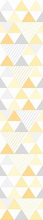 Adesivo de Parede Chevron Amarelo