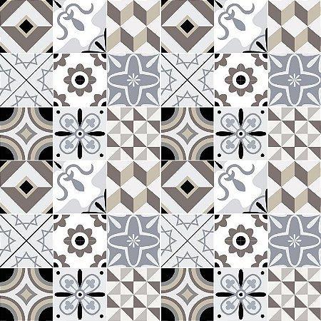Adesivo de Azulejo Decorativo Geométrico