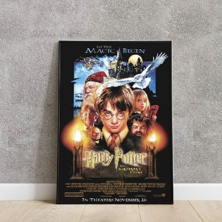 placa decorativa Harry Potter