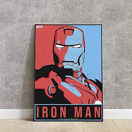 placa decorativa IRON MAN