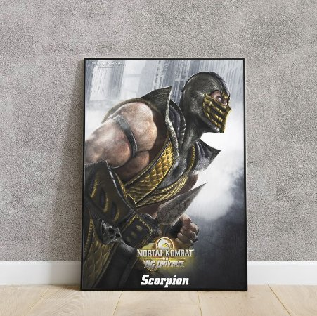 Placa decorativa scorpion