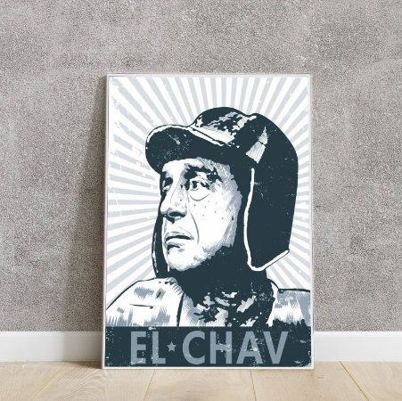 Placa decorativa Chaves