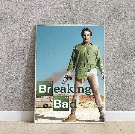 Placa decorativa Breakning Bad 2