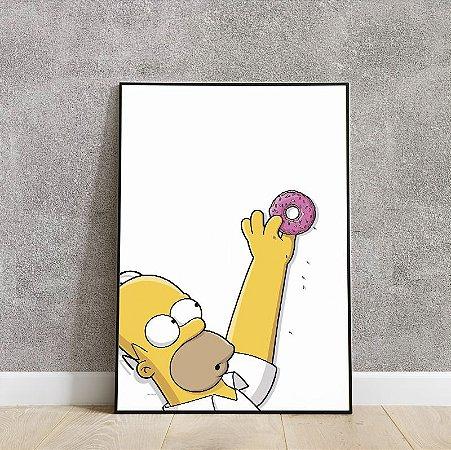 Placa decorativa the Simpsons 2