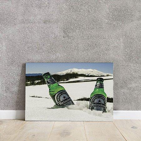 placa decorativa da Heineken