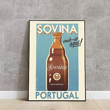 placa decorativa da Sovina