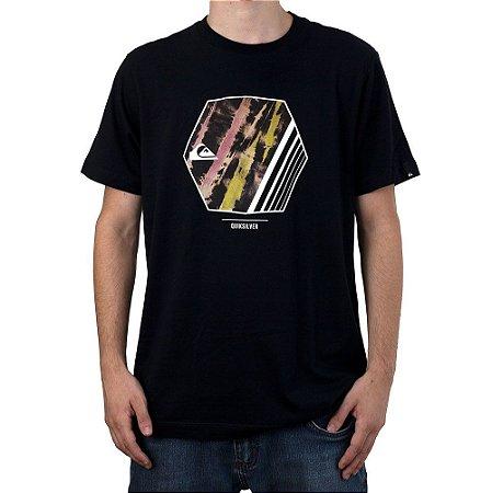 Camiseta Quiksilver Wild Vision Preto