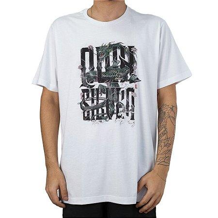 Camiseta QuikSilver Slim Fit Branca