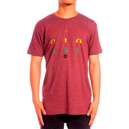 Camiseta Hang Loose Silk Jah Vinho