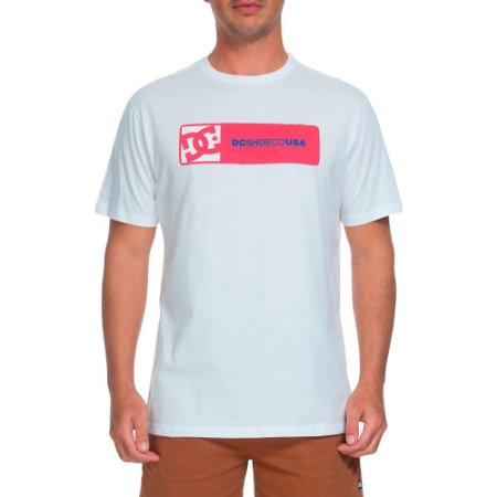 Camiseta DC Swaze Branco