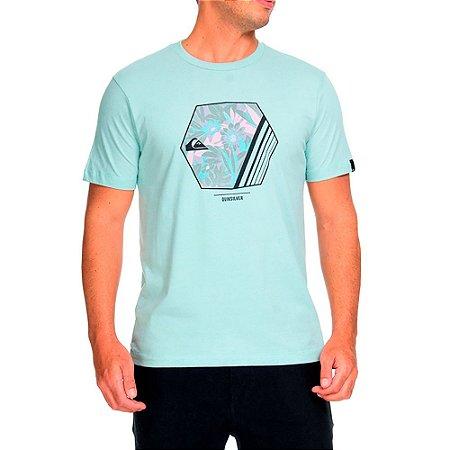 Camiseta QuikSilver Basic Azul
