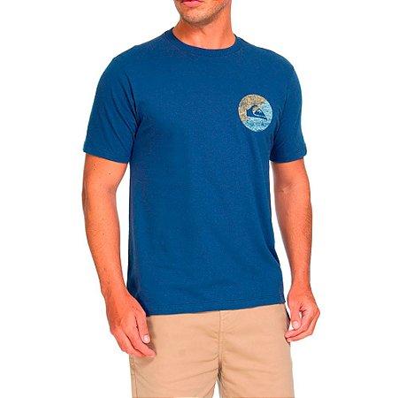 Camiseta QuikSilver Básica Azul