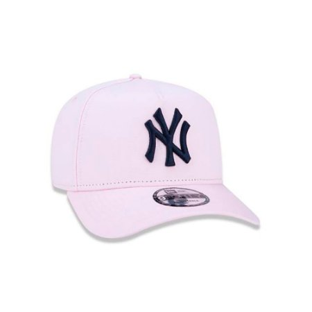 Boné New Era 940 MLB New York Yankees A-Frame Rosa