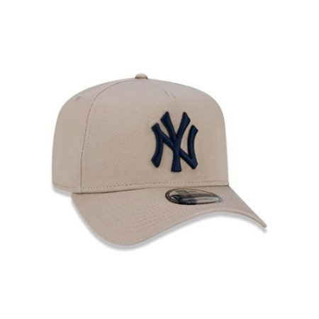 Boné New Era 940 MLB New York Yankees A-Frame Bege