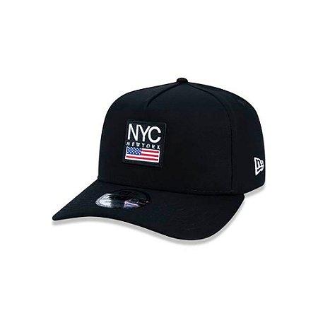 Boné New Era 940 NYC New York City Cities Snapback A-Frame Preto