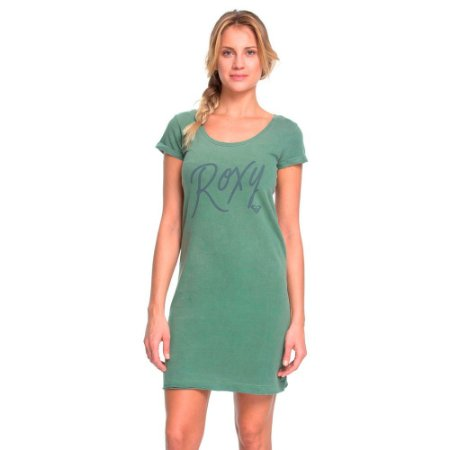 Vestido Roxy Curto Kissed Verde