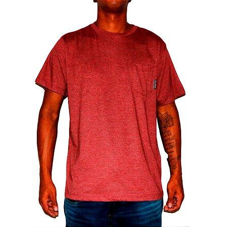 Camiseta DC Especial Pocket 3 Vermelho