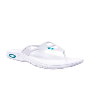 Chinelo Oakley Rest 2.0 White