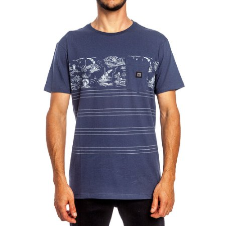Camiseta Hang Loose Especial Volcano Full Azul