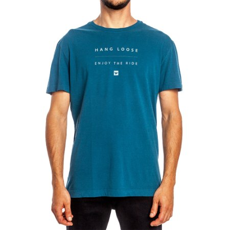 Camiseta Hang Loose Especial Ocean Azul