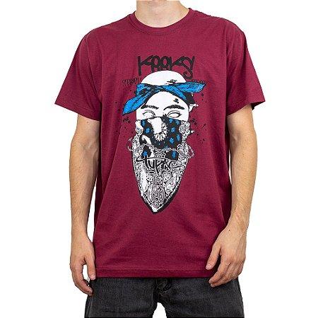 Camiseta Keek's Tupac Vinho