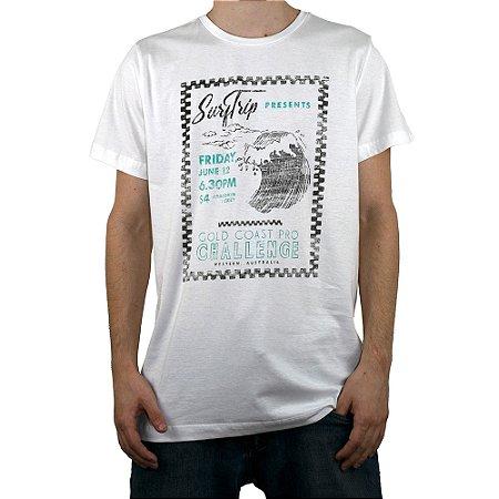 Camiseta Surf Trip Surf Creme