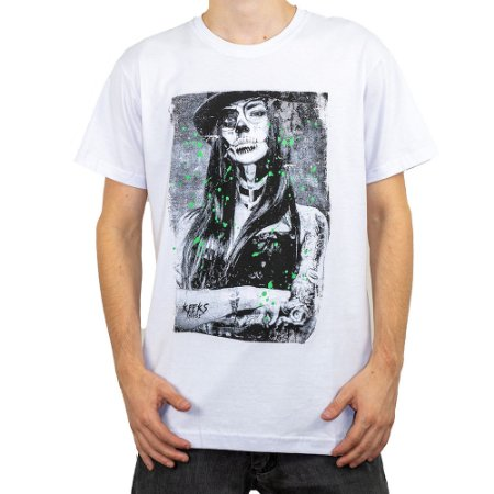 Camiseta Keek's Katrina Branco