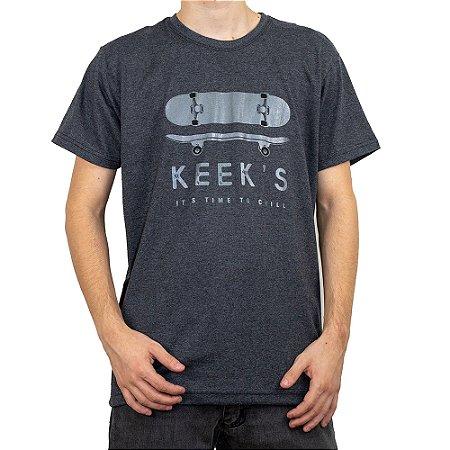 Camiseta Keek's Skate Grafite