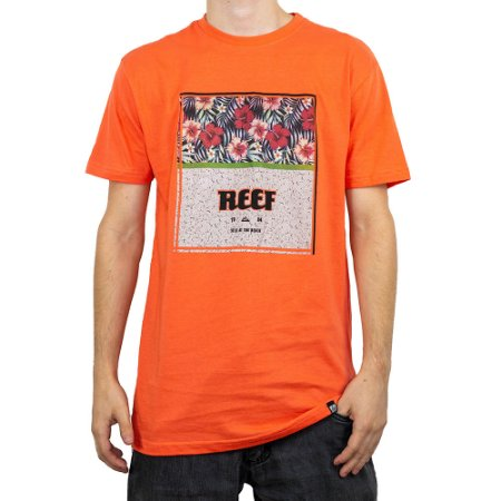 Camiseta Reef Still At The Beach Laranja