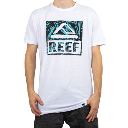 Camiseta Reef Tropical Branco