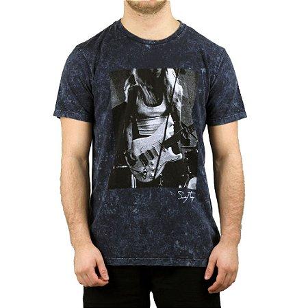 Camiseta Surf Trip Rock Azul
