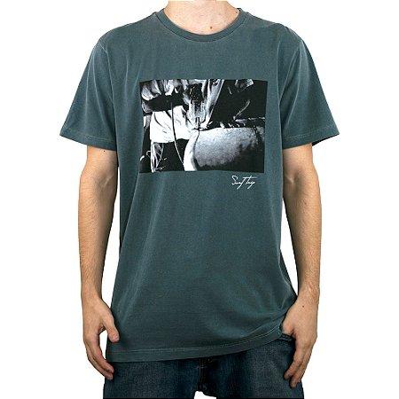 Camiseta Surf Trip Prancha Cinza