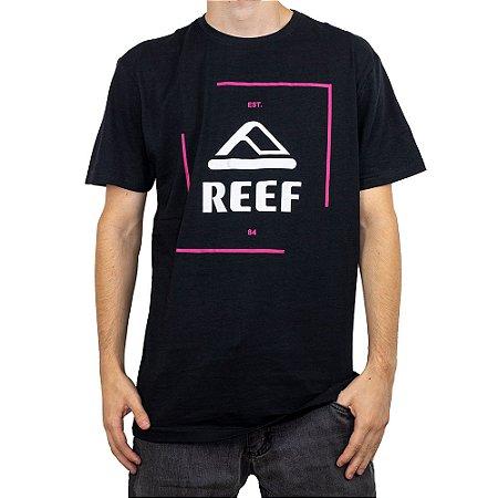Camiseta Reef Capsula Corporativa Preto