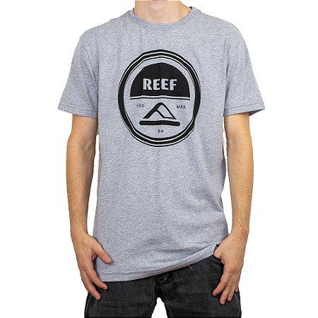 Camiseta Reef Aspiral Cinza