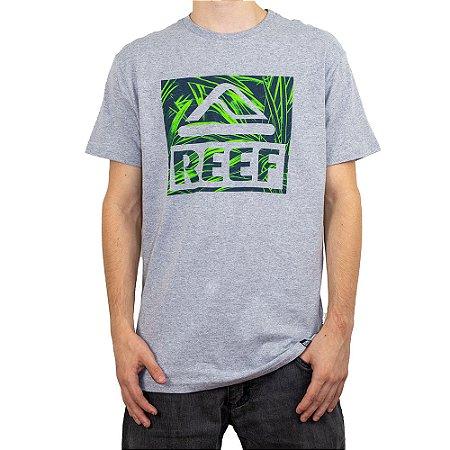 Camiseta Reef Tropical Cinza