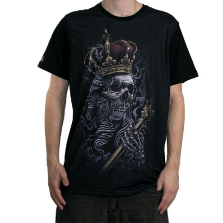 Camiseta Okdok Skull Kings Preto