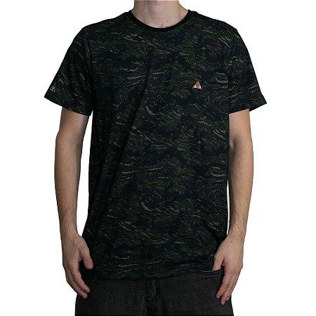 Camiseta Okdok Camu Full Print Verde