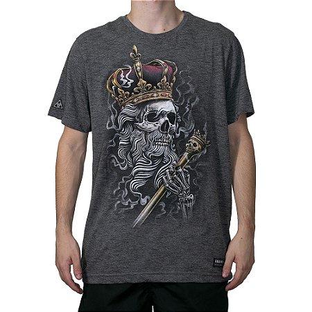 Camiseta Okdok Skull Kings Grafite