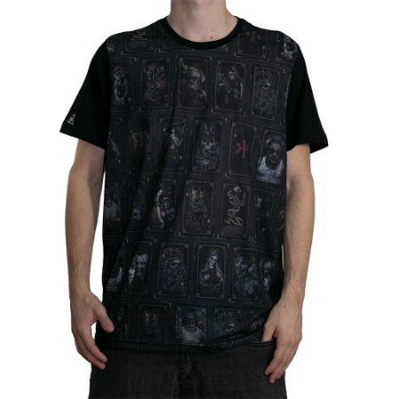 Camiseta Okdok Cards Preto