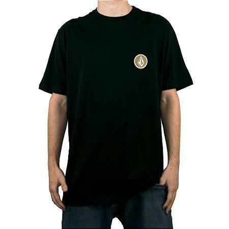 Camiseta Volcom Spray Stone Preto