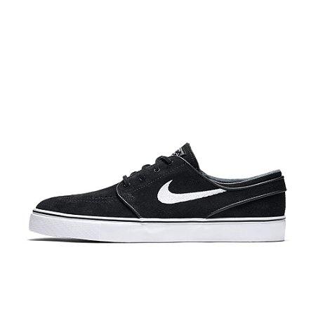 Tênis Nike SB Zoom Stefan Janoski OG Couro Black