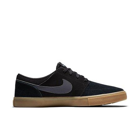 Tênis Nike SB Solarsoft Portmore II Black